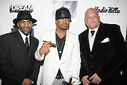 l to r: DJ Clue, The Dream and Shawn Pecas at The Dream's Black Tie Album Release Party held at The Hiro Ballroom on March 11, 2008 in New York City.  ..The Dream- Platinum-selling, award-winning, R&B Recording Artist, Writer and Producer, whose sophomore album, Love vs. Money, out NOW!