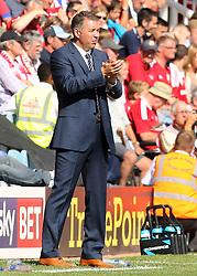 Peterborough United's manager Darren Ferguson - Photo mandatory by-line: Joe Dent/JMP - Tel: Mobile: 07966 386802 03/08/2013 - SPORT - FOOTBALL -  London Road Stadium - Peterborough -  Peterborough United v Swindon Town - Sky Bet One