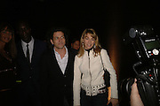 Stephen Webster and Anastasia Webster, DENIS SIMACHEV SHOWCASES AUTUMN/WINTER 06 MENSWEAR & WOMENSWEAR COLLECTIONS<br />