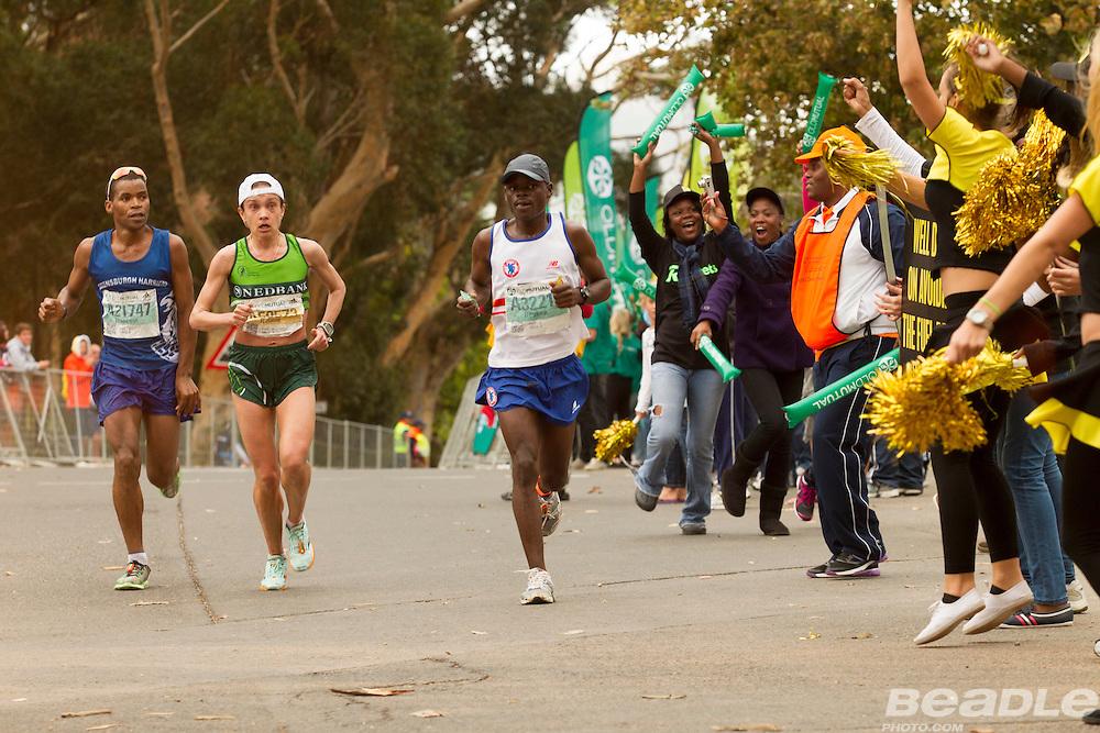 The 56 kilometre ultra marathon event of the Two Oceans Ultra Marathon, Cape Town. Images by Greg Beadle