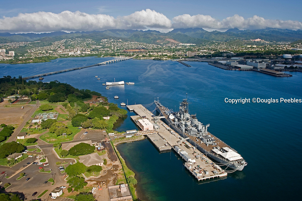 USS Missouri and, Arizona Memorial, Pearl Harbor, Oahu, Hawaii