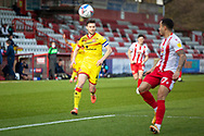 Matthew Sadler of Walsall during the EFL Sky Bet League 2 match between Stevenage and Walsall at the Lamex Stadium, Stevenage, England on 20 February 2021.