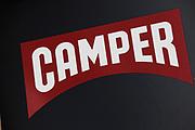 Sign for shoe shop Camper.