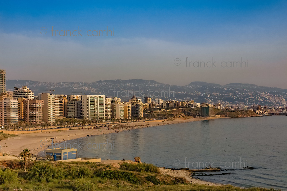 in Beirut capital city of Lebanon Middle east