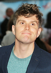 © Licensed to London News Pictures. 09/06/2014. London, UK Joel Dommett, The Hooligan Factory - World Film Premiere, Odeon West End Leicester Square, London UK, 09 June 2014. Photo credit : Richard Goldschmidt/LNP
