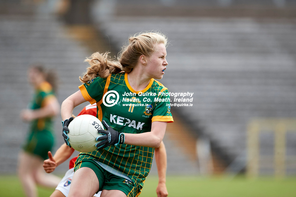 01-08-21, All Ireland Ladies SFC quarterfinal at Clones<br /> Meath v Armagh<br /> Stacey Grimes (Meath)<br /> Photo: David Mullen / www.quirke.ie ©John Quirke Photography, Proudstown Road Navan. Co. Meath. 046-9079044 / 087-2579454.<br /> ISO: 400; Shutter: 1/1250; Aperture: 4.5;