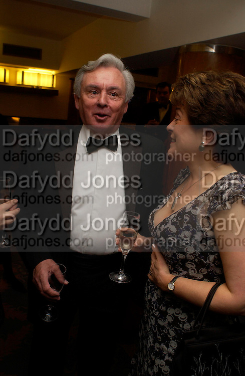 Donald Trelford. Annual  Award dinner given by the Media Society in honour of Sir David Frost. Savoy. 9 March 2005. ONE TIME USE ONLY - DO NOT ARCHIVE  © Copyright Photograph by Dafydd Jones 66 Stockwell Park Rd. London SW9 0DA Tel 020 7733 0108 www.dafjones.com