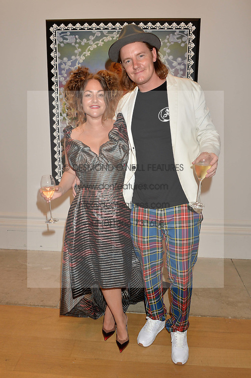 JAIME WINSTONE and JAMES SUCKLING at the Royal Academy of Arts Summer Exhibition Preview Party at The Royal Academy of Arts, Burlington House, Piccadilly, London on 7th June 2016.
