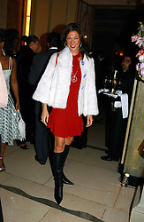 """HEATHER KERZNER at a party to celebrate the publication of Bruce Oldfield's autobiography """"Rootless"""" held in aid of Crimestoppers at Claridge's, Brook Street, London W1 on 22nd September 2004.<br /><br />NON EXCLUSIVE - WORLD RIGHTS"""
