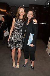Left to right, HEATHER KERZNER and ANITA ZABLUDOWICZ at the launch of Samsung's NX Smart Camera at charity auction with David Bailey in aid of Marie Curie Cancer Care at the Bulgari Hotel, 171 Knightsbridge, London on 14th May 2013.