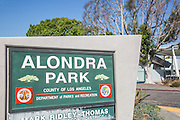 Alondra Park in Torrance California