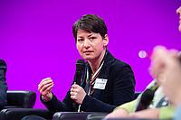 08 JAN 2019, KOELN/GERMANY<br /> Jasmin Arabian-Vogel, Praesidetin Verband deutscher Unternehmerinnnen, dbb Jahrestagung 2019, Deutscher Beamtenbund, Messe Köln<br /> IMAGE: 20190108-01-090