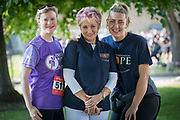 26/5/18 Maureen Forest, CEO Hope Foundation with RTE weather girl Nuala Carey and Georgia McGuirk at the Calcutta Run at the Law Society of Ireland, in aid of the Hope Foundation and the Peter McVerry Trust. Picture:Arthur Carron