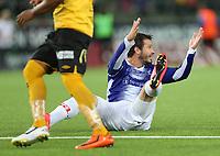 fotball, tippeliga, eliteserien, start, sarpsborg  28.september 2014<br /> Alejandro Castro, Sarpsborg<br /> Foto: Ole Fjalsett