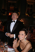 Alexander and Ella Krasner. Alexander Krasner 50th birthday. Wrotham Park, Herts. 10 February 2005. ONE TIME USE ONLY - DO NOT ARCHIVE  © Copyright Photograph by Dafydd Jones 66 Stockwell Park Rd. London SW9 0DA Tel 020 7733 0108 www.dafjones.com