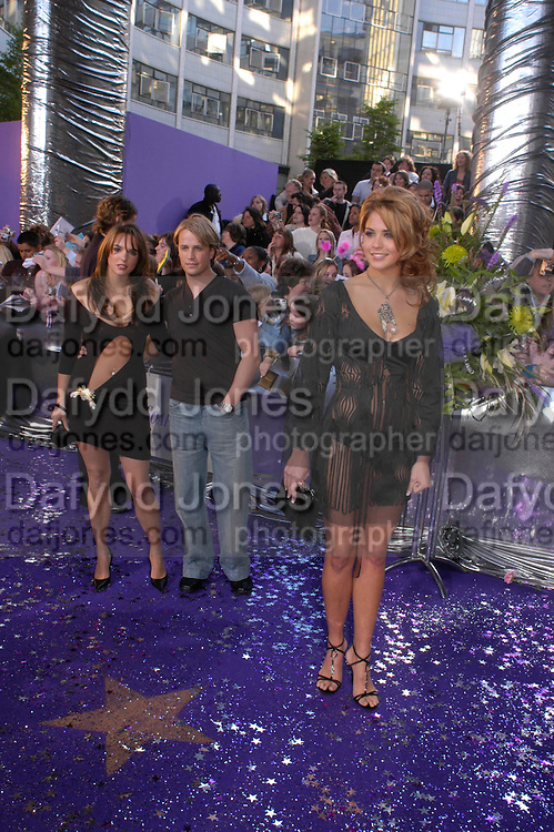Jodi Albert and Kian of Westlife, Jemma Atkinson,  , the 2005 British Soap Awards, BBC TV Studios. London. May 7 2005. ONE TIME USE ONLY - DO NOT ARCHIVE  © Copyright Photograph by Dafydd Jones 66 Stockwell Park Rd. London SW9 0DA Tel 020 7733 0108 www.dafjones.com
