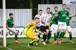 during football match between NŠ Mura and Olimpija Ljubljana in 34th Round of Prva liga Telekom Slovenije 2019/20, on July 16, 2020 in Fazanerija, Murska Sobota, Slovenia. Photo by Blaž Weindorfer / Sportida