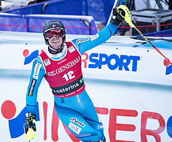 29.12.2016, Deborah Compagnoni Rennstrecke, Santa Caterina, ITA, FIS Ski Weltcup, Santa Caterina, alpine Kombination, Herren, Slalom, im Bild Aleksander Aamodt Kilde (NOR, 3. Platz) // third placed Aleksander Aamodt Kilde of Norway reacts after his run of Slalom competition for the men's Alpine combination of FIS Ski Alpine World Cup at the Deborah Compagnoni race course in Santa Caterina, Italy on 2016/12/29. EXPA Pictures © 2016, PhotoCredit: EXPA/ Johann Groder