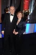 Mr. and Mrs. Iain Duncan Smith. The Black and White Winter Ball. Old Billingsgate. London. 8 February 2006. -DO NOT ARCHIVE-© Copyright Photograph by Dafydd Jones 66 Stockwell Park Rd. London SW9 0DA Tel 020 7733 0108 www.dafjones.com