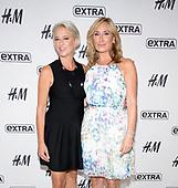 "Dorinda Medley and Sonja Morgan Visit ""EXTRA"""