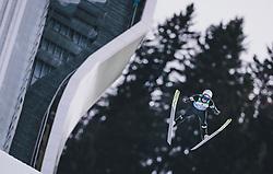 31.12.2019, Olympiaschanze, Garmisch Partenkirchen, GER, FIS Weltcup Skisprung, Vierschanzentournee, Garmisch Partenkirchen, Qualifikation, im Bild Peter Prevc (SLO) // Peter Prevc of Slovenia during his qualification Jump for the Four Hills Tournament of FIS Ski Jumping World Cup at the Olympiaschanze in Garmisch Partenkirchen, Germany on 2019/12/31. EXPA Pictures © 2019, PhotoCredit: EXPA/ JFK