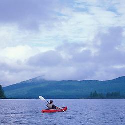Attean Pond, ME. Kayaking. Northern Forest. Moose River bow loop.