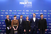 Brussels , 01/02/2020 : Les Magritte du Cinema . The Academie Andre Delvaux and the RTBF, producer and TV channel , present the 10th Ceremony of the Magritte Awards at the Square in Brussels .<br /> Pix: Isabel De La Serna; Matthieu Frances; Christopher Yates<br /> Credit : Alexis Haulot - Dana Le Lardic - Didier Bauwerarts - Frédéric Sierakowski - Olivier Polet / Isopix