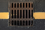 Maintenance Hole- and Drain Covers of Wirral by Colin McPherson, 2020-21.<br /> <br /> This version is a more modern one, a replacement gully cover installed the last two decades.