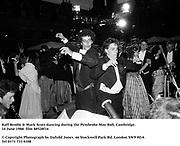 Raff Brodie & Mark Scott dancing during the Pembroke May Ball, Cambridge. 14 June 1988. film 88528f16<br />© Copyright Photograph by Dafydd Jones<br />66 Stockwell Park Rd. London SW9 0DA<br />Tel 0171 733 0108