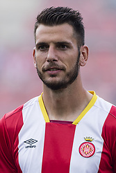 August 15, 2017 - Girona, Spain - Portrait of Pedro Alcala from Spain of Girona  during the Costa Brava Trophy match between Girona FC and Manchester City at Estadi de Montilivi on August 15, 2017 in Girona, Spain. (Credit Image: © Xavier Bonilla/NurPhoto via ZUMA Press)