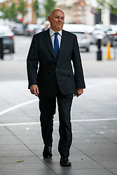 © Licensed to London News Pictures. 26/06/2016. London, UK. Former Work and Pensions Secretary IAIN DUNCAN SMITH arrives at BBC Broadcasting House in London to appear on The Andrew Marr show on BBC One on Sunday, 26 June 2016 after being sacked from the shadow cabinet by Jeremy Corbyn. Photo credit: Tolga Akmen/LNP