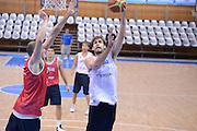 Chamutov 17 Agosto 2012 - qualificazioni Eurobasket 2013 - Allenamento<br /> Nella Foto : DAVID CHIOTTI<br /> Foto Ciamillo/Castoria