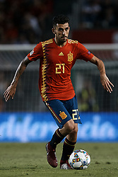 September 11, 2018 - Elche, Alicante, Spain - Dani Ceballos Fernandez of Spain with the ball during the UEFA Nations League A group four match between Spain and Croatia at Manuel Martinez Valero on September 11, 2018 in Elche, Spain  (Credit Image: © David Aliaga/NurPhoto/ZUMA Press)