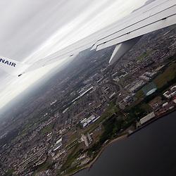 Ryanair flight to Edinburgh