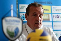 Metod Ropret, president of OZS, at press conference of Slovenian National Women Team on June 21, 2016 in Hisa Sporta, Ljubljana, Slovenia. Photo by Matic Klansek Velej / Sportida