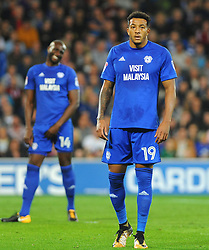 Nathaniel Mendez-Laing of Cardiff City in action  -Mandatory by-line: Nizaam Jones/JMP - 26/09/2017 -  FOOTBALL - Cardiff City Stadium - Cardiff,Wales -  Cardiff City v Leeds United - Sky Bet Championship