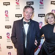 NLD/Hilversum/20160215 - Buma Awards 2016, Harry van Hoof en partner Els
