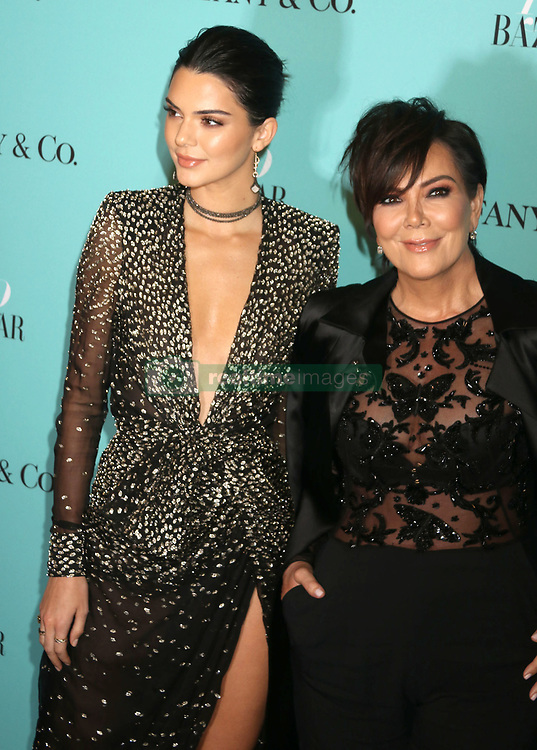 April 19, 2017 - New York, New York, U.S. - Model KENDALL JENNER and her mother KRIS JENNER attend the Tiffany & Co. and Harper's Bazaar 150th Anniversary Event held at the Rainbow Room. (Credit Image: © Nancy Kaszerman via ZUMA Wire)