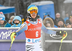 13.11.2016, Black Race Course, Levi, FIN, FIS Weltcup Ski Alpin, Levi, Slalom, Herren, 2. Lauf, im Bild Felix Neureuther (GER) // Felix Neureuther of Germany  reacts after his 2nd run of mens Slalom of FIS ski alpine world cup at the Black Race Course in Levi, Finland on 2016/11/13. EXPA Pictures © 2016, PhotoCredit: EXPA/ Nisse Schmidt<br /> <br /> *****ATTENTION - OUT of SWE*****