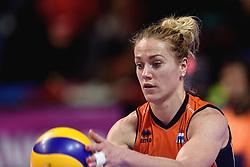 09-01-2016 TUR: European Olympic Qualification Tournament Rusland - Nederland, Ankara<br /> De Nederlandse volleybalsters hebben de finale van het olympisch kwalificatietoernooi tegen Rusland verloren. Oranje boog met 3-1 voor de Europees kampioen (25-21, 22-25, 25-19, 25-20) / Maret Balkestein-Grothues #6