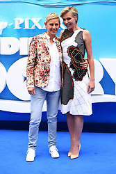 July 11, 2016 - London, United Kingdom of Great Britain and Northern Ireland - Ellen DeGeneres and Portia de Rossi arriving at the UK Premiere of 'Finding Dory' at the Odeon Leicester Square on July 10, 2016 in London, England  (Credit Image: © Famous/Ace Pictures via ZUMA Press)
