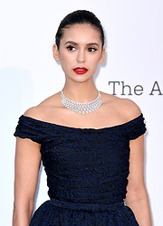 Nina Dobrev attending the 26th amfAR Gala held at Hotel du Cap-Eden-Roc during the 72nd Cannes Film Festival. Picture credit should read: Doug Peters/EMPICS