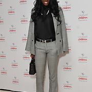 Nina Sall of Naaboo London attends the Children's charity hosts fashion and beauty lunch event, with live entertainment at The Dorchester, London, UK. 12 October 2018.