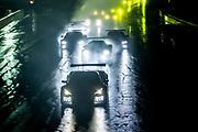 October 10, 2020. IMSA Weathertech, Charlotte ROVAL: Start of the Imsa race led by #3 Corvette Racing Corvette C8.R, GTLM: Antonio Garcia, Jordan Taylor with #911 Porsche GT Team Porsche 911 RSR, GTLM: Nick Tandy, Fred Makowiecki, #24 BMW Team RLL BMW M8 GTE, GTLM: John Edwards, Jesse Krohn, #25 BMW Team RLL BMW M8 GTE, GTLM: Connor De Phillippi, Bruno Spengler