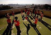 Belo Horizonte_MG, Brasil...Escola Municipal Ulisses Guimaraes. Transformacoes da escola e projeto Escola integrada...The Municipal School Ulisses Guimaraes. The project Escola Integrada...Foto: LEO DRUMOND /  NITRO