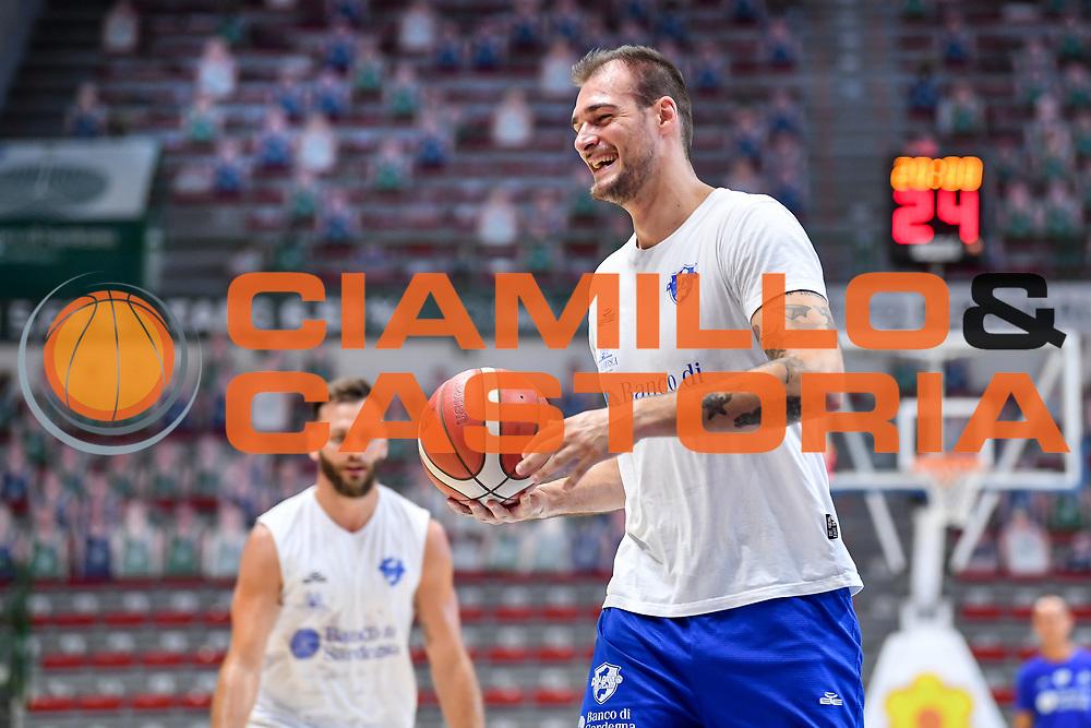 Jacopo Borra<br /> Allenamento Banco di Sardegna Dinamo Sassari<br /> LBA Legabasket Serie A 2021-2022<br /> Sassari, 12/08/2021<br /> Foto L.Canu / Ciamillo-Castoria