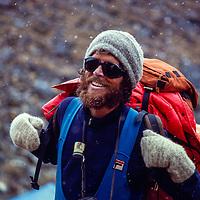 Dr. Peter Hackett during Baruntse Climbing Expedition, Nepal, 1980.