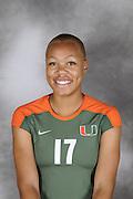 2009 Miami Hurricanes Women's Volleyball Photo Day