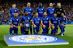 Leicester City ahead of the defeat to Atletico Madrid in the UEFA Champions League Quarter-Final - Mandatory by-line: Robbie Stephenson/JMP - 18/04/2017 - FOOTBALL - King Power Stadium - Leicester, England - Leicester City v Atletico Madrid - UEFA Champions League Quarter-Final Second Leg