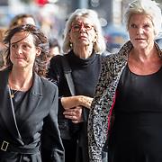 NLD/Amsterdam/20171014 - Besloten erdenkingsdienst overleden burgemeester Eberhard van der Laan, Janine Abbrink en Wouke van Scherrenburg